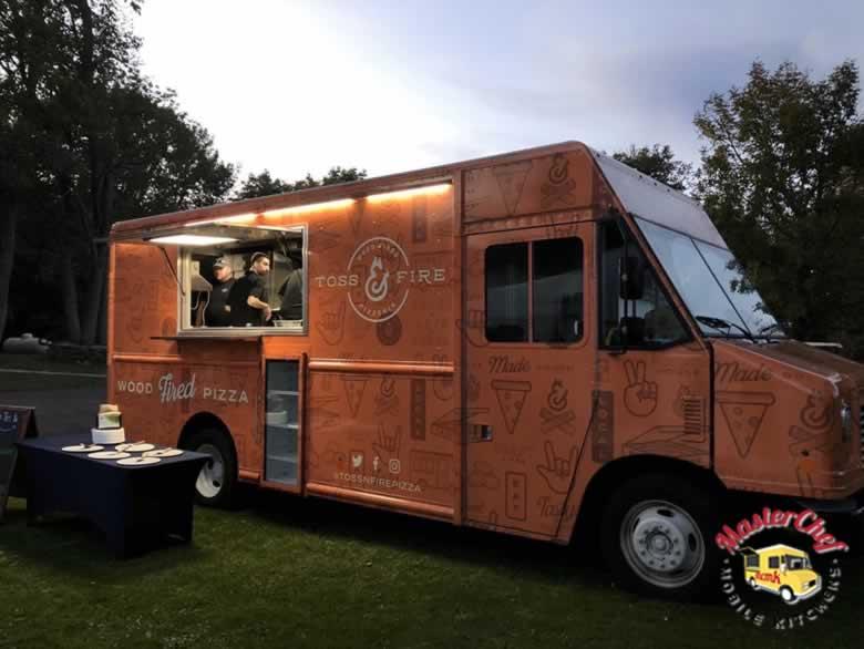 Toss N Fire Wood Fired Pizza Truck 1