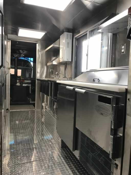 Food trucks build