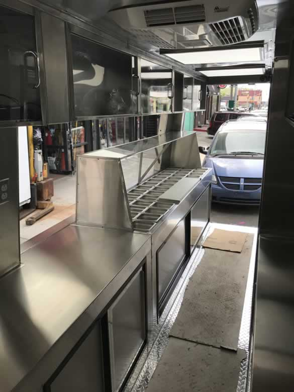 Chopped Salad Sprinter Food Truck
